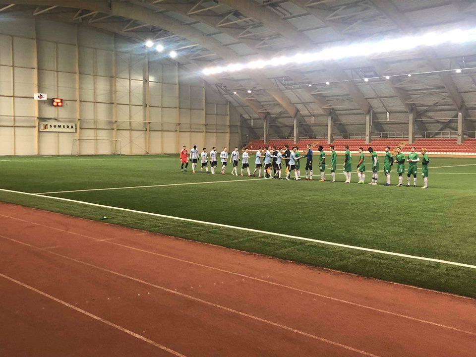 """Antrosiose kontrolinėse rungtynėse skaudžiai nusileista FK """"Jonavos"""" ekipai"""