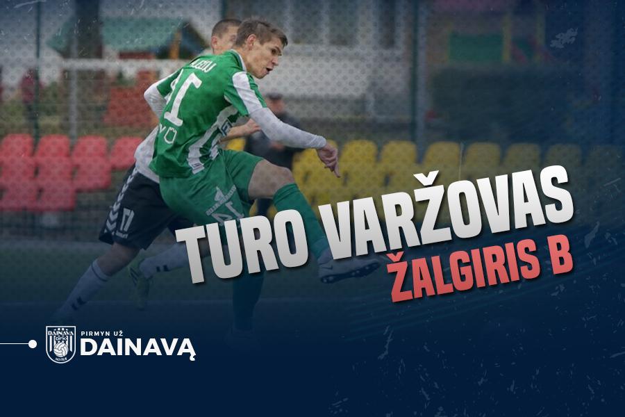 Turo varžovas: į profesionalų futbolą žengiantis Lietuvos vicečempionų jaunimas