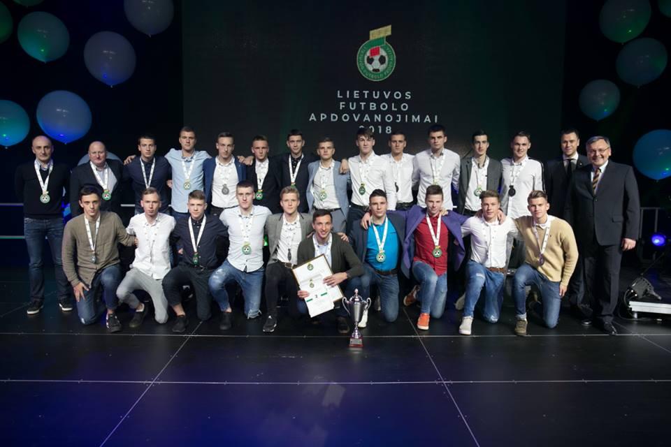 LFF apdovanojimų šventė vainikavo 2018 metų sezoną