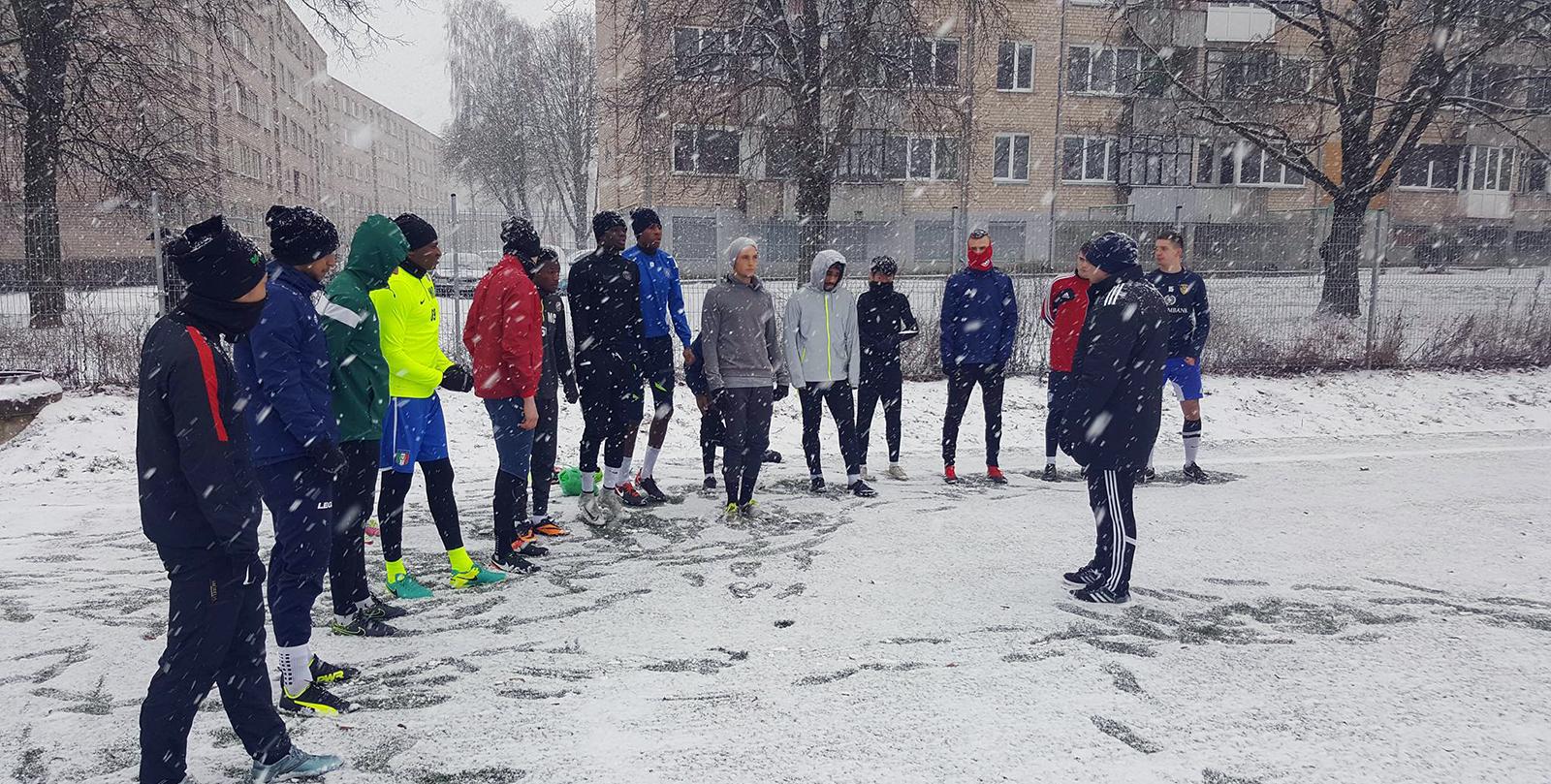 """DFK """"Dainavos"""" pasiruošimas sezonui įgauna pagreitį"""
