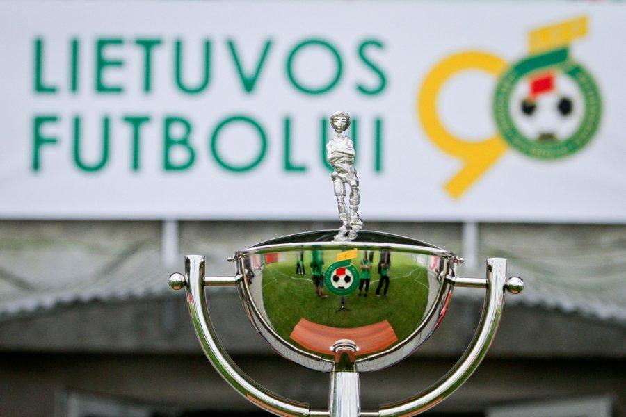 Antrajame LFF taurės turnyro etape – akistata su II lygos ekipa
